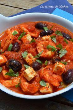 Les recettes de Nathou: Scampis à la grecque