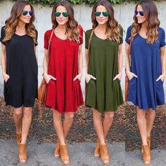 Summer T-Shirt Mini Dress