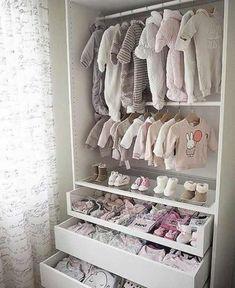Baby Room Boy, Baby Bedroom, Baby Room Decor, Baby Boy, Childs Bedroom, Ikea Pax, Ikea Closet, Closet Bedroom, Girl Closet