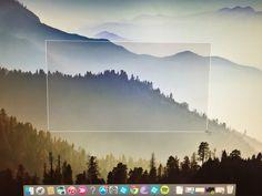 Take a trimmed screenshot