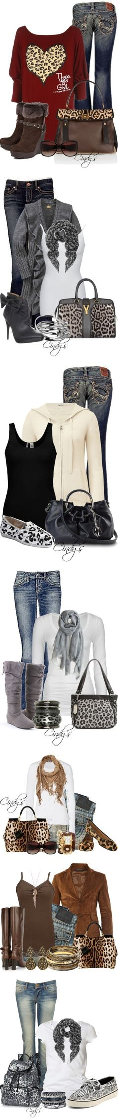 """Animal Print Collection"" by cindycook10 ❤ liked on Polyvore"