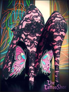 Painted Lady by Tattoo Shoe