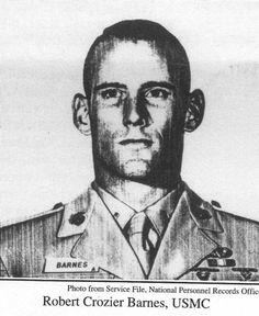 Virtual Vietnam Veterans Wall of Faces | ROBERT C BARNES JR | MARINE CORPS