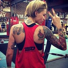 45 Stunning Ruby Rose's Tattoos