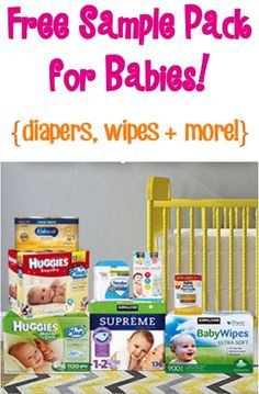 FREE Sample Pack for Babies! {diapers, wipes, baby wash + more!} #thefrugalgirls