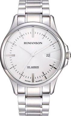 Мужские часы Romanson CA5A10MMW(WH) 1cf0582fdb5