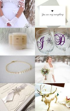 Winter Wedding by Marilyn on Etsy--Pinned with TreasuryPin.com