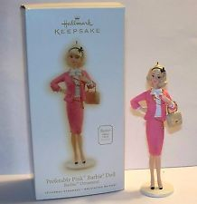 Hallmark Keepsake 2009 Barbie Preferably Pink