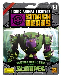 "Smash Heads toybox ""Stomper"""