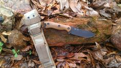 KaBar Becker BK16.  Excellent smaller survival knife