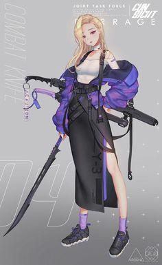 Character design Nail Desing a nail art design Cool Anime Girl, Beautiful Anime Girl, Kawaii Anime Girl, Anime Art Girl, Anime Girls, Naruto Girls, Manga Girl, Chica Anime Manga, Female Character Design