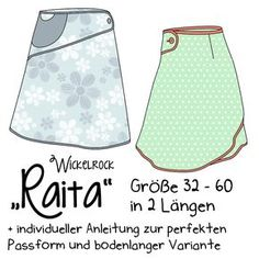 Näähglück by Sophie Kääriäinen: Raita (wrap skirt pattern with button) Sewing Hacks, Sewing Tutorials, Sewing Crafts, Sewing Projects, Baby Knitting Patterns, Sewing Patterns Free, Free Sewing, Diy Clothing, Sewing Clothes