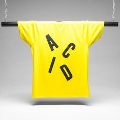 Aciiid! Stand out with the ACID Letter tee.