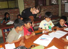 """""""I also recognized many of the kids from a year ago, and I could see how they had many more skills in the classroom."""" Melissa volunteers in Lima, #Peru again a year later. #Review"""
