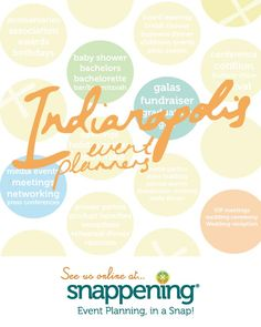 Make any #Indianapolis event perfect with a helpful event planner! This list gives you access to all the #Indy event and #wedding planners we could find.