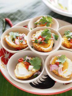 【ELLE gourmet】タイ風揚げ卵の前菜レシピ エル・オンライン