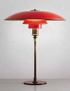 Art Déco - Luminaire - Lampe de Bureau - Poul Henningsen - 1926-27