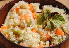 Risotto de quinoa au potiron au Cooking Chef