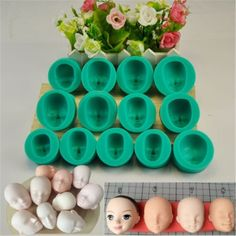 Cheap baking decoration, Buy Quality doll face silicon directly from China baking kitchen Suppliers: Dolls Face Silicone Fondant Mould Cookies Dessert Cookies Molds Kitchen Bakery Baking Decorating Utensils Houseware Sully Cake, Chocolate Diy, Face Mold, Rolling Fondant, Fondant Molds, Fondant Cookies, Baking Cookies, Cake Decorating Supplies, Sugar Craft