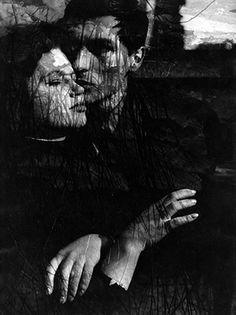 Ica Vilander Class work for Heinz Hajek-Halke's photo class, H.f.b.K, Berlin,1960s