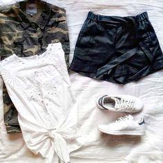 """616 """"Μου αρέσει!"""", 9 σχόλια - styliciouss Life (@styliciousslife) στο Instagram: """"Jacket in militer my friend✔ . Total look: @zara  Shoes:@adidas .…"""""""