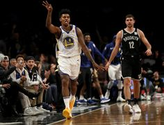 94be48727398 Nick Young  6 of the Golden State Warriors reacts after making a 3-point