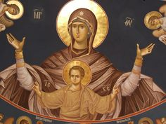 Virgin Mary, Sketchbooks, Fresco, Easter Eggs, Religion, Princess Zelda, Fictional Characters, Art, Magick