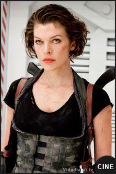 Primera imagen de rodaje de Resident Evil 6 con Milla Jovovich