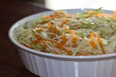 Primanti Brothers Style Coleslaw. Photo by cooking4barb