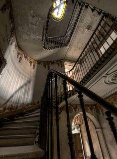 Sadly, Utterly Abandoned Stairwells