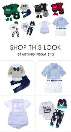 """""""Baby Boy Outfits"""" by kekebeflee on Polyvore featuring Ralph Lauren, men's fashion and menswear"""