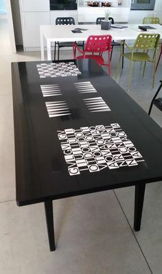 #Modula Backgammon table #Corian®