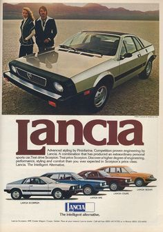 Items similar to 1977 Advertisement Lancia Scorpion Import Auto 2 Door  Sports Car Driver Owner Dealership Garage Shop Wall Art Decor on Etsy c5db44f7fae