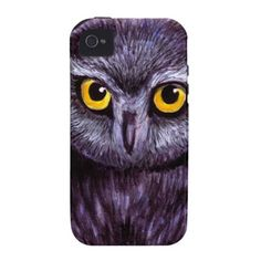 Little Saw Whet Owl iPhone 4 Case