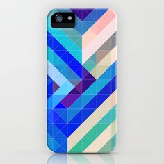 Mermaid's Tail iPhone & iPod Case by House of Jennifer - $35.00  #abstract #geometric #iphone #samsung #society6 #houseofjennifer