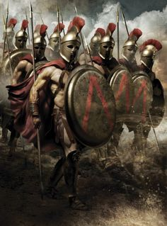 ⭐Spartan warriors the ultimate military badasses.