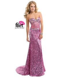 Flirt by Maggie Sottero 2014 Prom Dresses - Sweet Orchid Sequin Dress with Illusion Sweetheart Bodice (38556-P3872) van...Price - $468.00-KWRUwynp