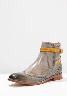 74b1cbf3221a Chaussures Melvin   Hamilton AMELIE 11 - Bottines - morning grey yellow  gris  170,00 € chez Zalando (au 02 01 17). Livraison et retours gratuits et  service ...