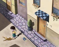 illustration of Digital, Children's Books
