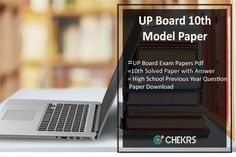 Cbse Th Model Question Papers  Pdf Download Sample Papers  Up Board Th Model Paper  High School Previous Year Question Paper