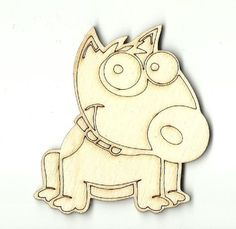 Puppy Dog - Laser Cut Wood Shape DOG66