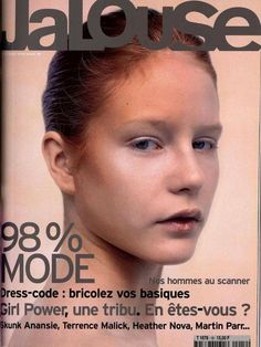 Jalouse cover with Rosemary Bartilla - March 1999