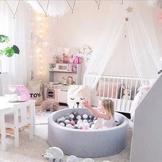 INS Hot Fencing Manege For Children Round Play Pool Baby Ball Pool Playpen For parque bebe Tipi enfant Kids Tent Birthday Gift. Baby Bedroom, Baby Room Decor, Nursery Room, Nursery Decor, Bedroom Decor, Nursery Design, Bedroom Lighting, Modern Bedroom, Bedroom Wall