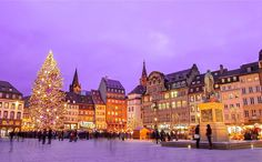 Strasbourg, Christmas Market, by Alexi Tauzin.
