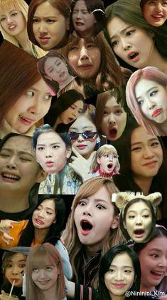 This is BlackPink meme faces Meme Faces, Funny Faces, Kpop Black Pink, Blackpink Funny, Lisa Blackpink Wallpaper, Whatsapp Wallpaper, Blackpink Video, Blackpink Memes, Kim Jisoo