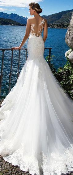 Wedding Dress by Milla Nova White Desire 2017 Bridal Collection - Doriana