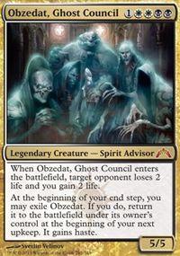 Obzedat, Ghost Council  - control deck