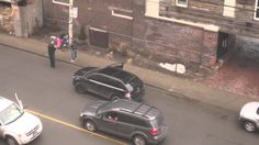 Truck hits and runs on #Toronto street.  Take a look and see if you recognize anyone.  #hitandrun.