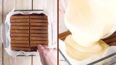 Cheese cake, brownie or XXL chocolate bar? Chocolate Glaze, Chocolate Desserts, Food Cakes, Dessert Bars, Kit Kat Brownies, Giant Candy Bars, Chocolates, Cheesecake, Cream Cheese Spreads