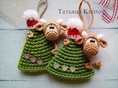 Christmas Tree Pattern, Crochet Christmas Ornaments, Christmas Crochet Patterns, Holiday Crochet, Christmas Tree Decorations, Handmade Christmas, Xmas Tree, Holiday Decor, Christmas Scents